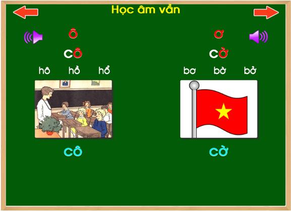 học vần tiếng Việt